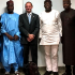 The Minister of Solid Minerals Dr. Fayemi Kayode (the second from the right)